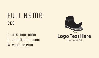 Shoe Maker Fashion Business Card