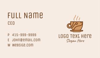 Coffee Maker Tech  Business Card