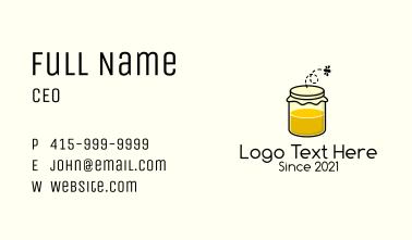 Honeybee Jar Business Card