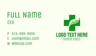 Medical Nature Cross Business Card