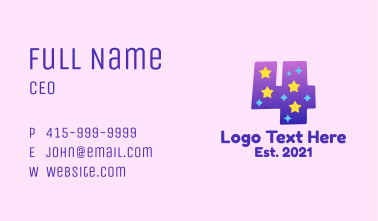 Starry Four Business Card