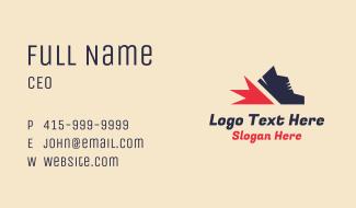 Running Shoe Business Card