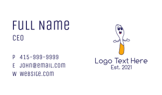 Happy Spoon Business Card