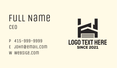 Industrial Storage House Business Card