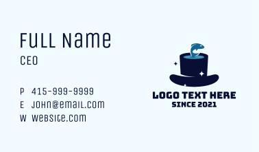 Magic Hat Show Business Card