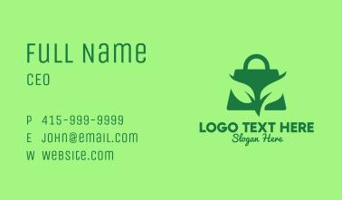 Eco-Friendly Bag Business Card