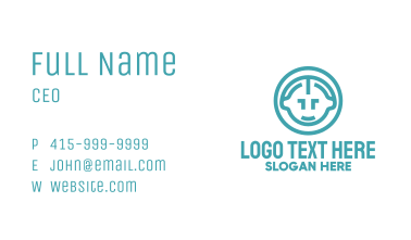 Baby Circle Business Card