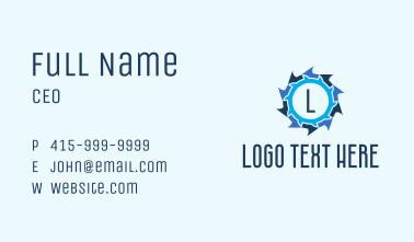 Shuriken Tech Letter  Business Card