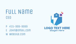 Digital Tech House Business Card