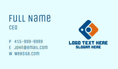 Digital Camera App Business Card
