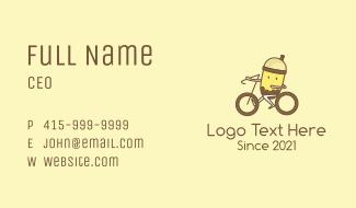 Milk Tea Cyclist Business Card