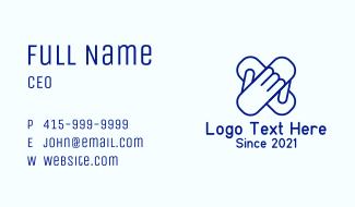 Hand Bandage Business Card