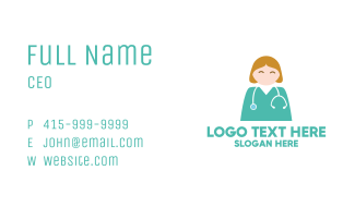 Hospital Doctor Nurse Business Card