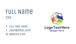 Tech Cube Business Card