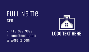 House Briefcase Business Card
