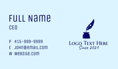 Pen Ink Publishing  Business Card