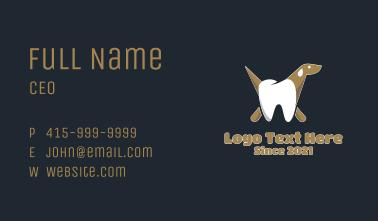 Dental Dog Business Card