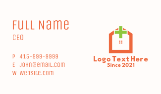 Medical Hospital Establishment Business Card