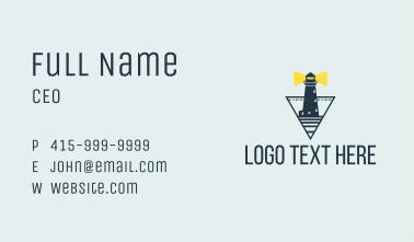 Ocean Light House  Business Card