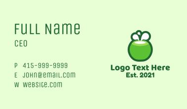 Coconut Milk Business Card