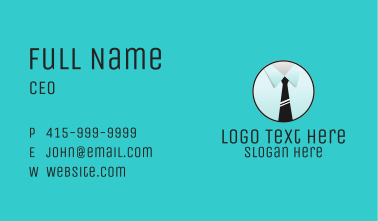 Business Tie Business Card