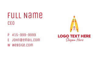 French Baguettes Business Card