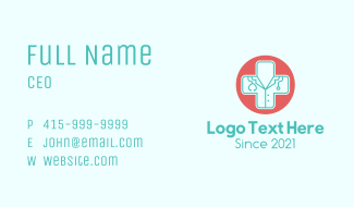 Medical Cross Profession Business Card