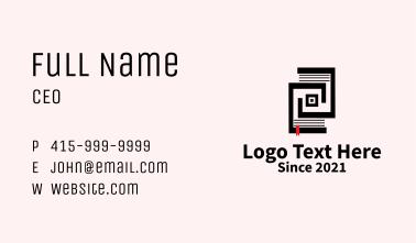 Digital Online Ebook  Business Card