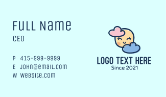 Baby Clouds Business Card