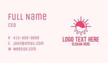 Sun Cow Udder  Business Card