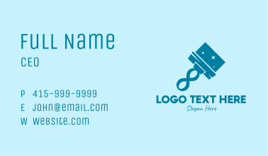 Clean Infinity Car Wash  Business Card