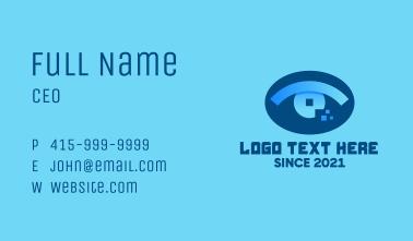 Eye Tech Pixel Business Card
