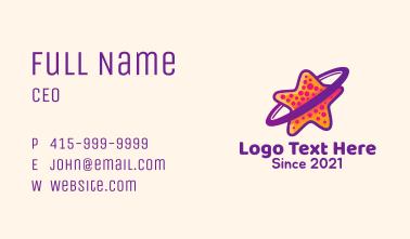 Starfish Orbit  Business Card