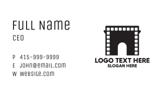 Arch Movies  Business Card