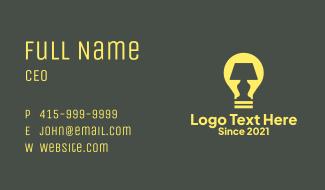 Table Lamp Lighting  Business Card