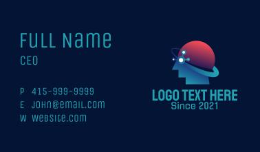Human Brain Orbit Business Card