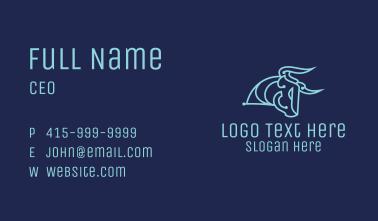 Bull Tech Circuit Business Card