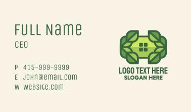 Green Leaf Window Business Card