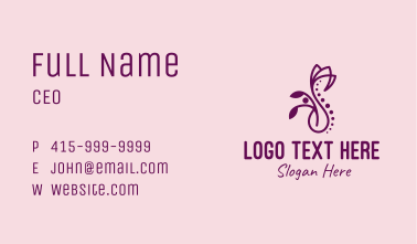 Wellness Spine Therapy Business Card