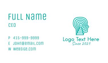 Psychologist Mental Health  Business Card