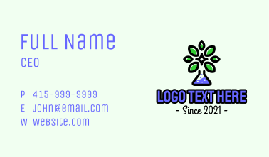 Herbal Chemical Science Business Card