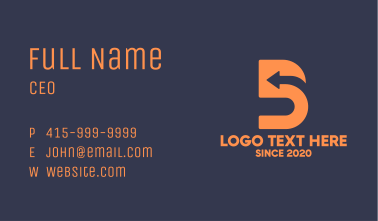 Direction Number 5 Business Card