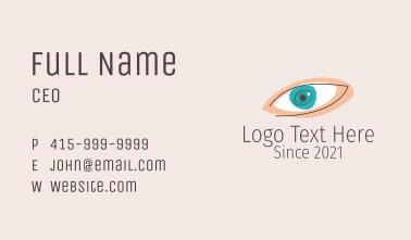 Minimalist Eye Clinic  Business Card