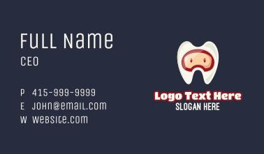 Tooth Helmet Dental Business Card