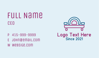 Sofa Bed Arch Business Card