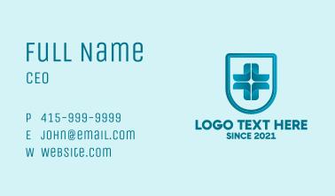 Medical Hospital Cross Business Card
