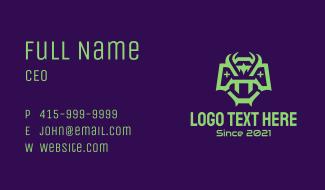 Green Viper Controller Business Card