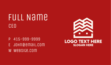 House Cascade Business Card