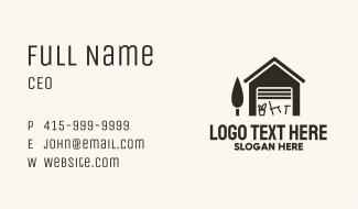 Garage Sale Furniture Business Card