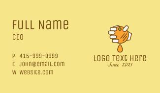 Fresh Orange Squeeze Business Card